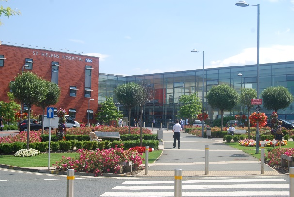 St Helen's Hospital is an outstanding NHS Trust teaching hospital in Merseyside