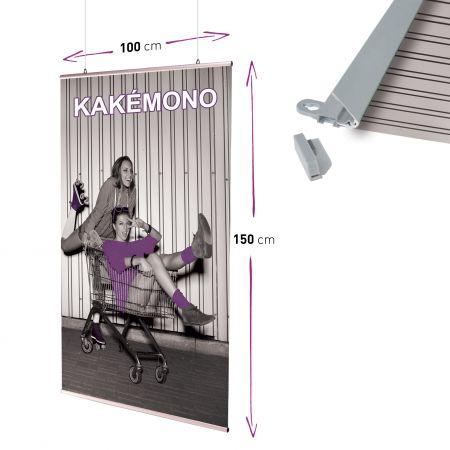 kakemono suspendu – impression-rollup.fr