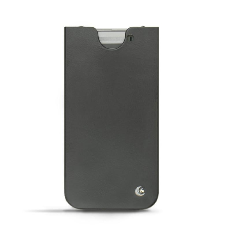 Schlicht und edel, dieses Lederetui HTC One M8