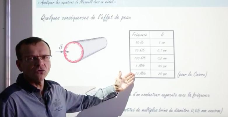 équations de Maxwell dans un métal (cours prépa scientifique)