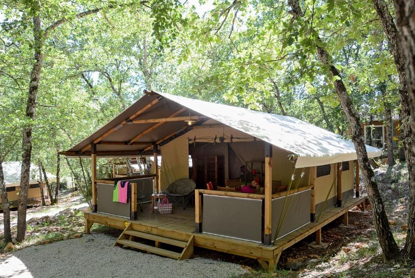 Le Parc : camping Var avec tente lodge